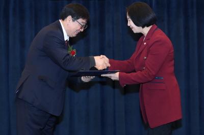 서초구의회 김안숙 행정복지위원장, 대한민국 공공정책대상 최우수상 수상