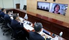 [ 한미일 의원회의]   코로나19 상황 속 3국간 협력 도모·각국 경제회복 방안 공유