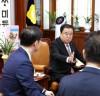 국회의장, 통일부·국방부 차관 등으로부터 평양공동선언 내용 보고 받아